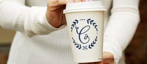 Sip Coffee In A Disposable Paper Cup And Have Your Business Promoted Effortlessly